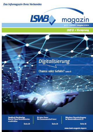 LSWB-Magazin 2/2016 - Digitalisierung
